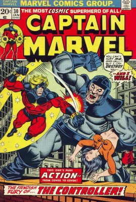captain marvel 30 value
