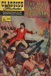 Gilberton Publications's Classics Illustrated #63: The Man Without a Country Issue # 7