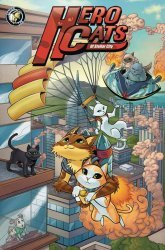 Action Lab Entertainment's Hero Cats Hard Cover # 1