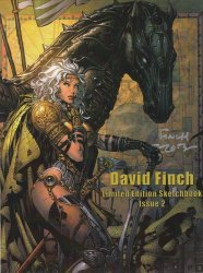 Self-Published's David Finch Limited Edition Sketchbook Soft Cover # 2