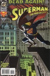 DC Comics's Superman: The Man of Steel Issue # 39