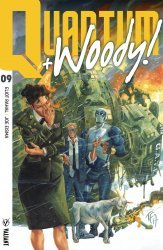 Valiant Entertainment's Quantum & Woody Issue # 9