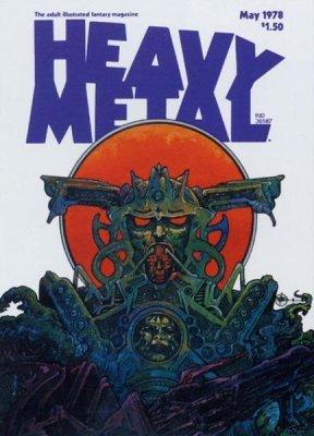 Heavy metal comic book prices