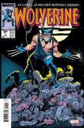 Marvel Comics's Wolverine Issue # 1facsimile