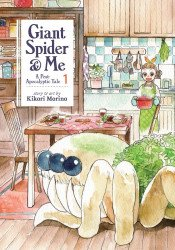 Seven Seas Entertainment's Giant Spider & Me: A Post-Apocalyptic Tale Soft Cover # 1