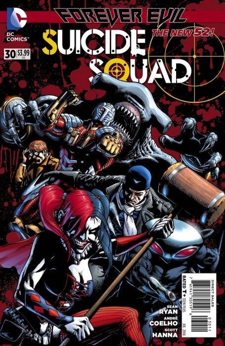 Suicide Squad vol 1 #18 Vf 1st Print Dc Comics High Safety