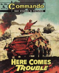 D.C. Thomson & Co.'s Commando: War Stories in Pictures Issue # 1054