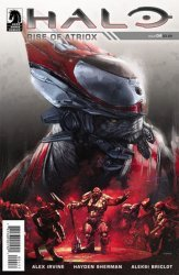 Dark Horse Comics's Halo Rise of Atriox Issue # 4
