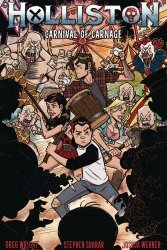 Source Point Press's Holliston: Carnival of Carnage Issue # 1