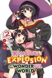 Yen Press's Konosuba: An Explosion on this Wonderful World Soft Cover # 2