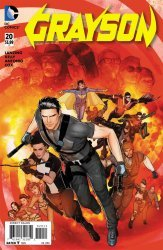 DC Comics's Grayson Issue # 20