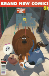 Titan Comics's The Secret Life of Pets Issue # 1b