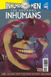 Marvel Comics's The Uncanny Inhumans Issue # 18