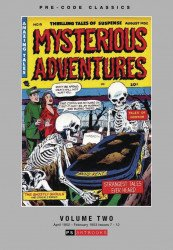 PS Artbooks's Pre-Code Classics: Mysterious Adventures Hard Cover # 2
