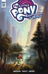 IDW Publishing's My Little Pony: Friendship is Magic Issue # 54ri