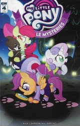 IDW Publishing's My Little Pony: Ponyville Mysteries Issue # 4ri