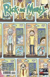 Oni Press's Rick and Morty Issue # 24b
