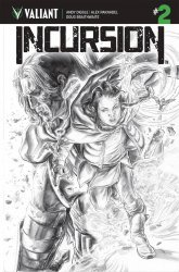 Valiant Entertainment's Incursion Issue # 2c