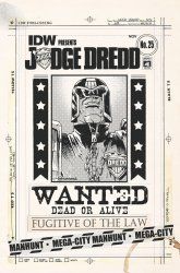 IDW Publishing's Judge Dredd Issue # 25ri