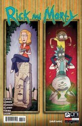 Oni Press's Rick and Morty Issue # 31b