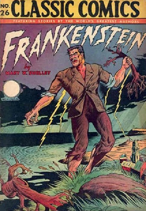 Frankenstein Comics 21 (Prize Publications) - ComicBookRealm.com