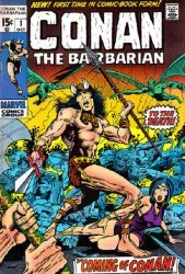 Marvel Comics's Conan the Barbarian Issue # 1