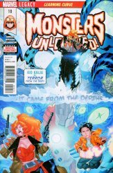 Marvel Comics's Monsters Unleashed Issue # 10