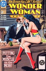 DC Comics's Wonder Woman Issue # 81b