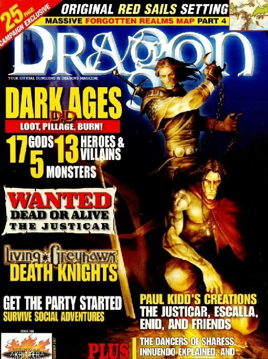 Dragon Magazine Issue # 290 (Wizards of the Coast)