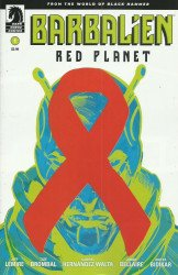 Dark Horse Comics's Barbalien: Red Planet Issue # 1b