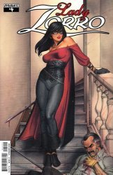 Dynamite Entertainment's Lady Zorro Issue # 4