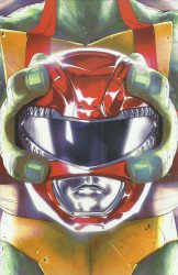 BOOM! Studios's Mighty Morphin Power Rangers/Teenage Mutant Ninja Turtles Issue # 1c