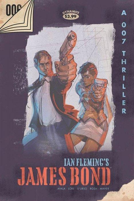IAN FLEMING/'S JAMES BOND #5 DYNAMITE ENTERTAINMENT