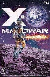 Valiant Entertainment's X-O Manowar Issue # 4e