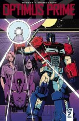 IDW Publishing's Optimus Prime Issue # 7