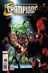 Marvel Comics's Champions Issue # 6