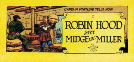 Vital Publications's Captain Fortune Tells How Robin Hood Met Midge the Miller Issue nn b