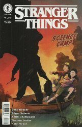 Dark Horse Comics's Stranger Things: Science Camp Issue # 4b