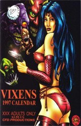 CFD Productions's Vixens 1997 Calendar Issue # 1b