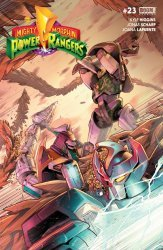 BOOM! Studios's Mighty Morphin Power Rangers Issue # 23