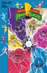 BOOM! Studios's Mighty Morphin Power Rangers Issue # 27b
