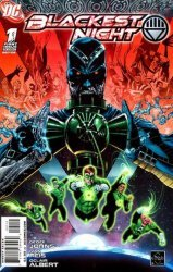 DC Comics's Blackest Night Issue # 1-2nd print