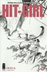 Image Comics's Hit-Girl Issue # 11b