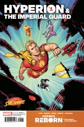Marvel Comics's Heroes Reborn: Hyperion & The Imperial Guard Issue # 1