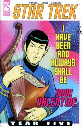 IDW Publishing's Star Trek: Year Five - Valentine's Day Special Issue # 1ri