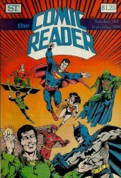 Street Enterprises's The Comic Reader Issue # 183