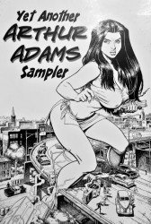 Self-Published's Arthur Adams Sketchbook Issue # 3