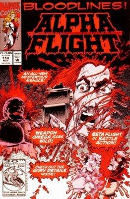 Alpha Flight Issue # 80 (Marvel Comics)