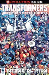 IDW Publishing's Transformers: More Than Meets the Eye Issue # 57sub