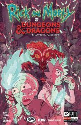 Oni Press's Rick And Morty Vs Dungeons & Dragons Chapter II: Painscape Issue # 2b